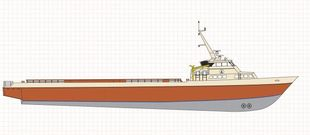 190ft Fast Supply Vessel