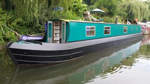 Spriggan 57ft Trad narrowboat