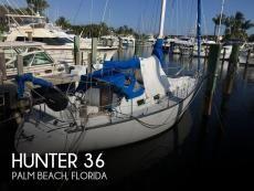 1985 Hunter 36