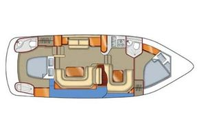 Manufacturer Provided Image: Main Deck Layout