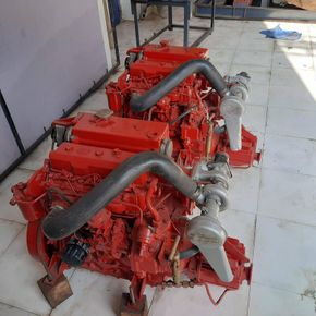 bukh dv48 lifeboat engine from ships