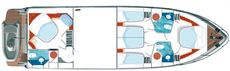 Pearl 60 - Lower Deck