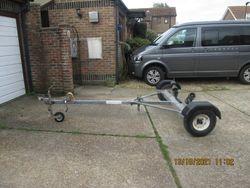 Heavy duty galvanised trailer