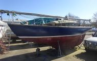 Classic 25ft mahogany sloop to restore