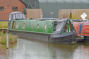 65ft Two Bedroom Cruiser Stern Narrowboat