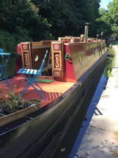 RARE 55ft Sevener tug-style trad narrowboat, 1935 by Charles Hill