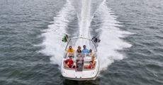 215 Deck Boat