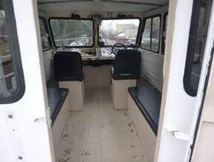 1989 28' Alum Monark/Sea Ark Work boat