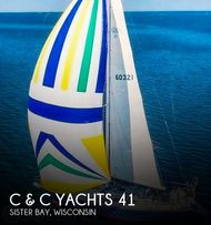 1988 C & C Yachts 41 Wing Keel