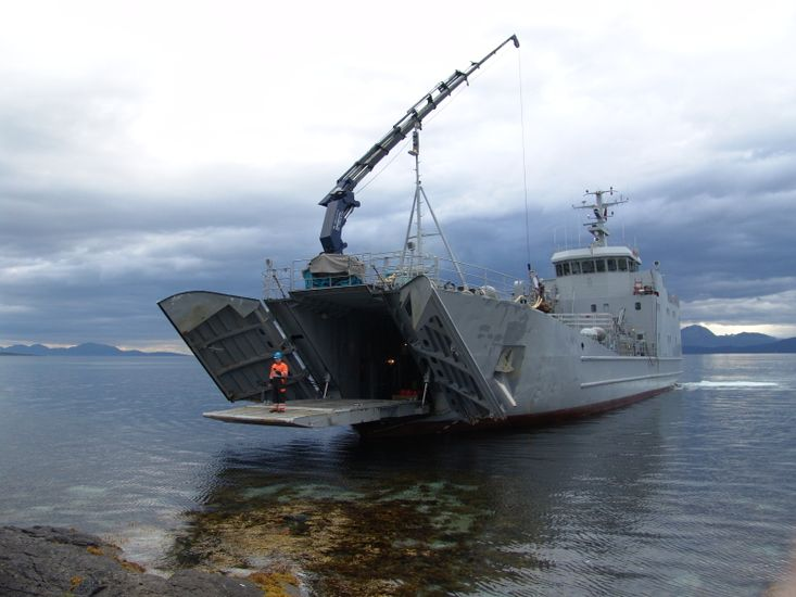 Landing craft. We assist with export licence & delivery