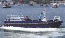 8M RIB Aluminum  Twin Waterjet