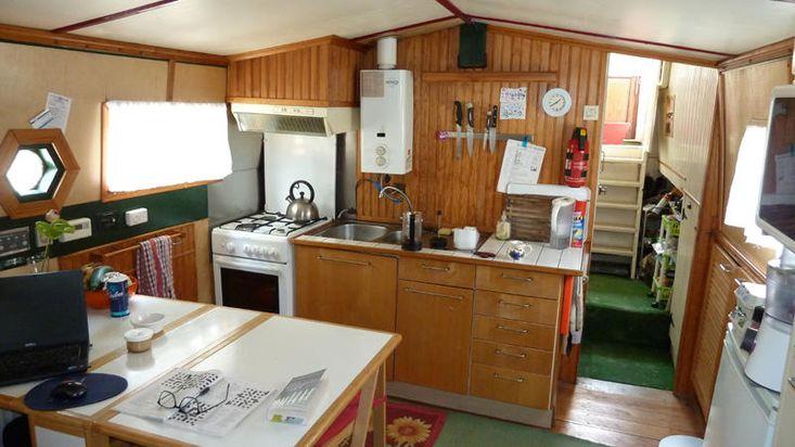 Dutch Barge liveaboard South France