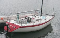 Starflash Quarter ton racing yacht
