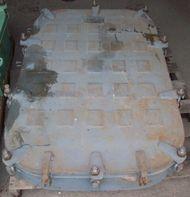 8) Surplus Navy Style Steel Hatches