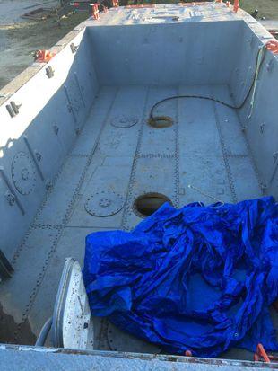 1971 50′ x 14′ x 2′ Ex Navy Twin Screw Cargo Tug