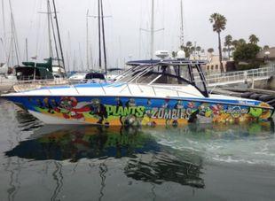 2008 Fountain 38 Sportfish Cruiser OB