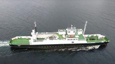 RO -RO Car Ferry with 300 tonn deck cargo