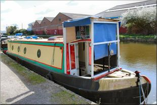 40ft - residential mooring London