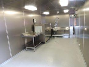 Dishwash area