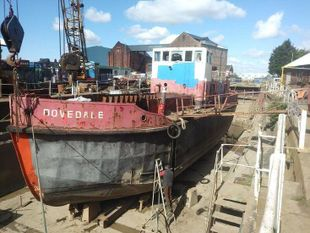 23.48m Barge to convert