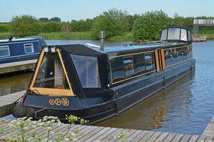 56ft 11in Semi-Trad Stern Narrowboat
