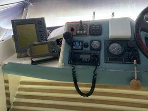 Flybridge helm