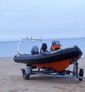 Rib with trailer