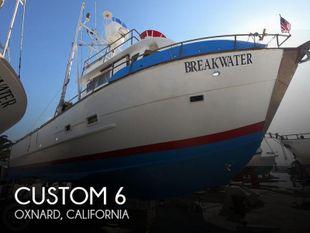 1951 Custom 6 Pack SportFIsh / Dive Boat