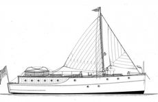 1927 Classic Taylor & bates Motor Yacht