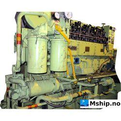 Ruston  type 6APC7/2  generator set