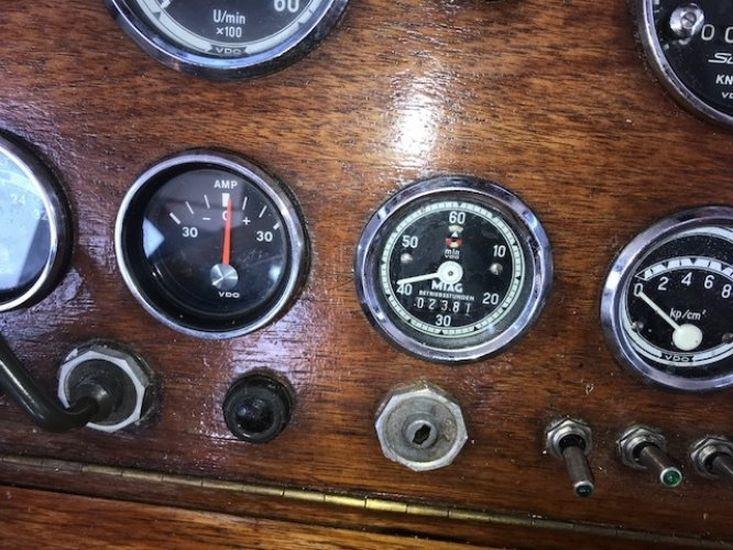 1973 Kompier Motorsailer 13.70