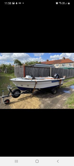 ryds 430gt 2006 tohatsu 30hp fast fisher
