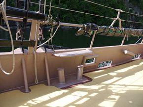 pinrail and bulwark