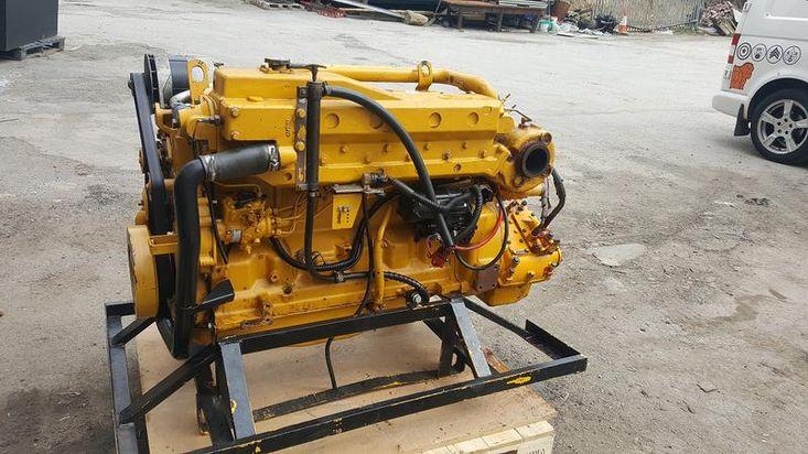 John Deere marine engine