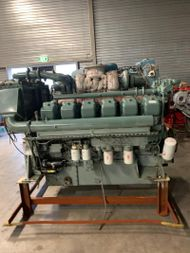 MITSUBISHI S12A2-MPTK 701kW- 940 HP - 1940 RPM SN 23304