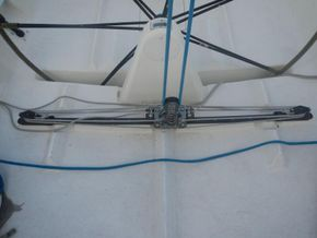 IMX -38 Racing yacht with Aft cabin - Running Rigging