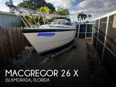 2001 MacGregor 26 X