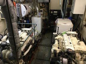 Engine room looking forward