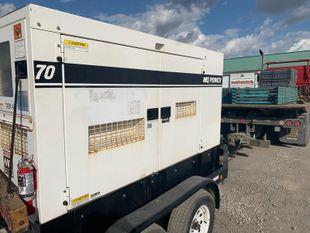 John Deere Genset – 70 KVA/56 KW, 120/208V