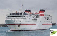 117m / 378 pax Passenger / RoRo Ship for Sale / #1051435