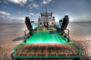 Island Class Bow Loading Car Passenger