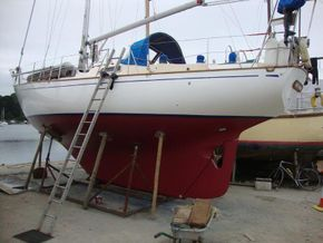 treated hull port side