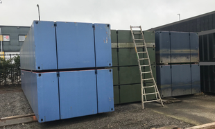 8 Modular Container Pontoons Package