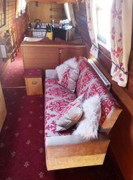 traditional narrowboat