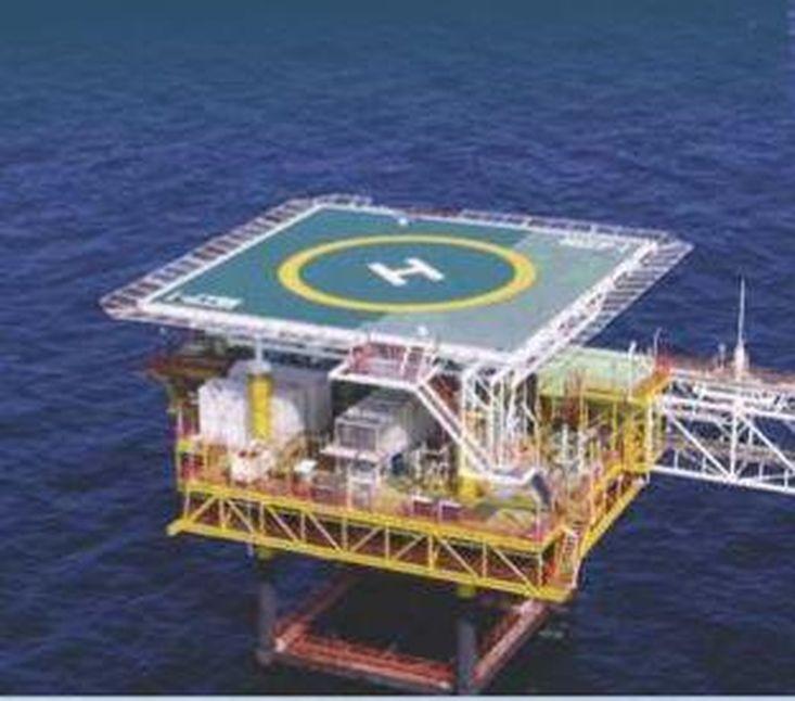 MOC Shipyards Modular Floating Helideck Pontoon
