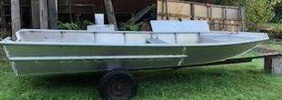 19'6 x 6'6 Aluminum Work Boat