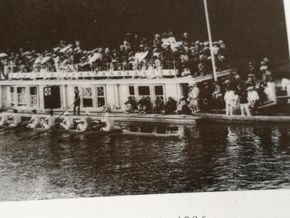 Old Photo New College Barge