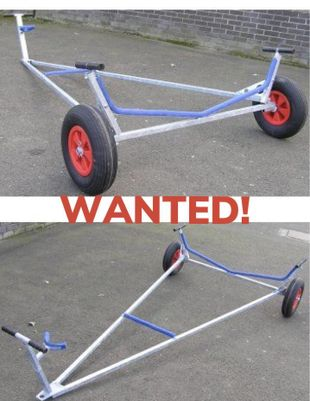 Wanted trolley for laser