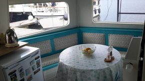 Galley sitting area