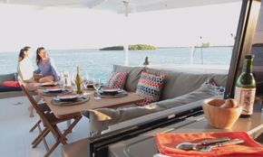 Manufacturer Provided Image: Manufacturer Provided Image: Fountaine Pajot Lucia 40 Cockpit